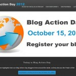 行動│Blog Action Day 2012:The Power of We我們的力量